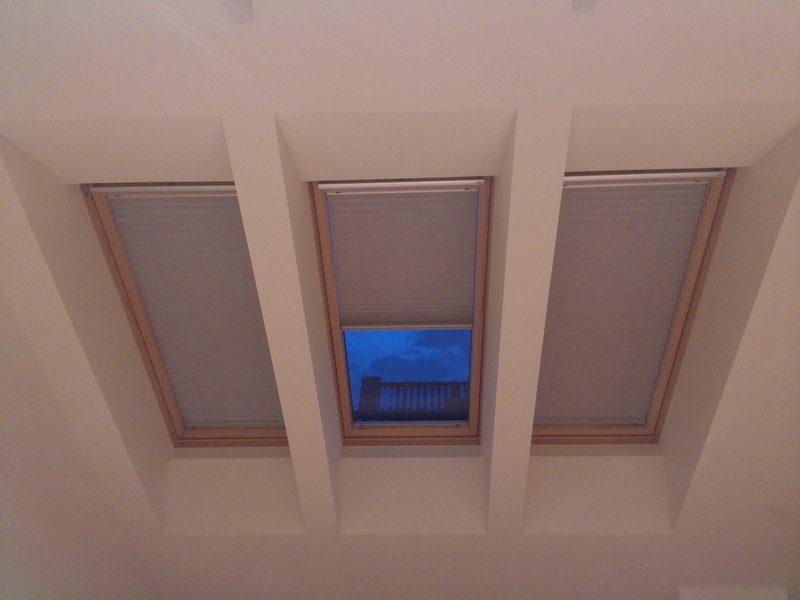 plisy dachowe, plisy na okna dachowe