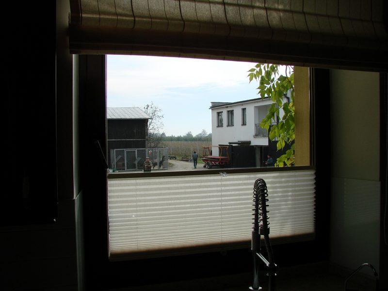 plisy okienne, plisy Warszawa, żaluzje plisowane